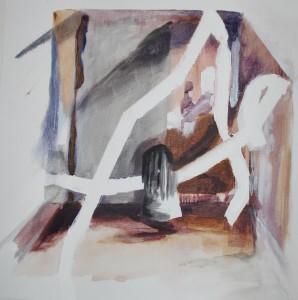 popje III Acryl op doek 50cm x 50cm € 162,00