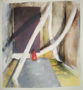 popje IV Acryl op doek 50cm x 50cm € 162,00