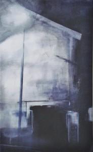 stadslichtI Acryl op doek 29cm x 45cm € 104,00