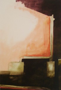 stadslichtIV Acryl op doek 29cm x 45cm € 104,00