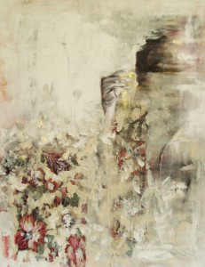 guinevere (2015) mixed media, acryl op doek